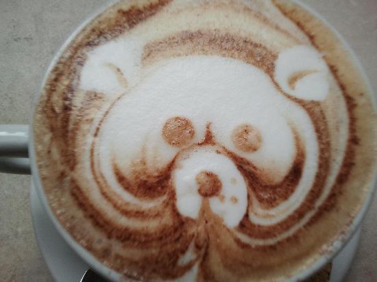 La Bottega: cappuccino