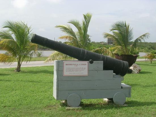 East End Village, Anguilla: Heritage Collection Museum . British Naval Cannon