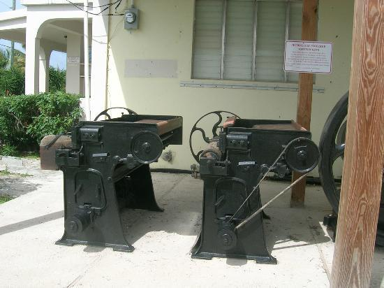 East End Village, Anguilla: Heritage Collection Museum . Cotton Gins