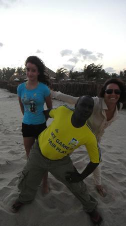 Kenga Giama Resort: Francis ed ospiti