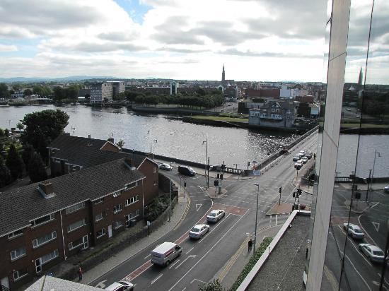 Limerick Strand Hotel: view from lifts in hotel