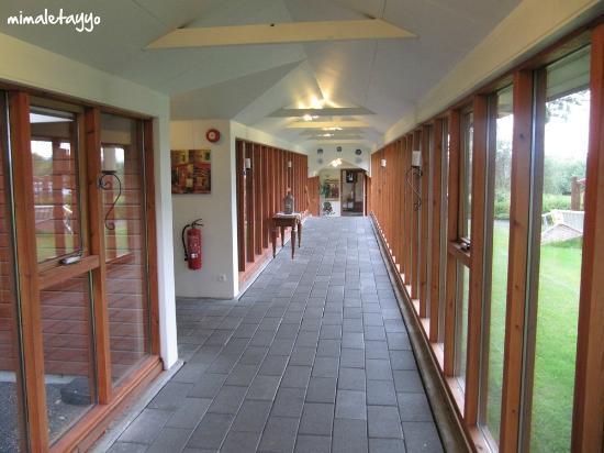 Fosshotel Hekla: Pasillo del Hotel Hekla