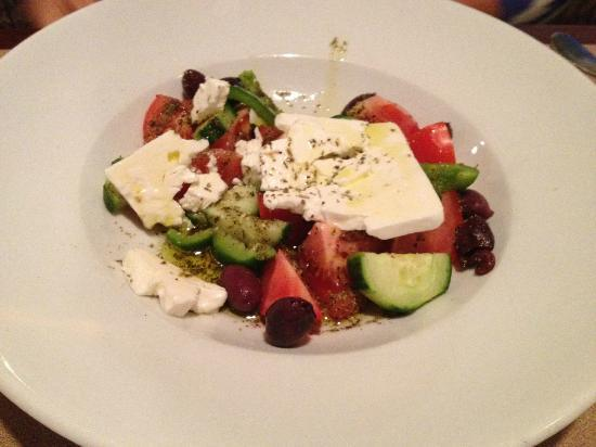 The Hampstead House Restaurant: Hampstead House's Traditional Greek Salad