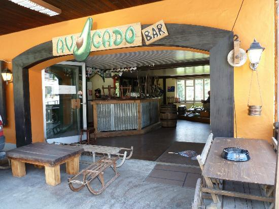 Avocado Bar: Entrance to the bar