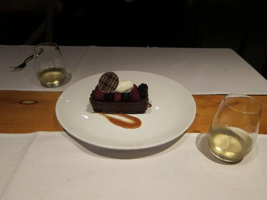 Ravine Winery Restaurant: Dessert!