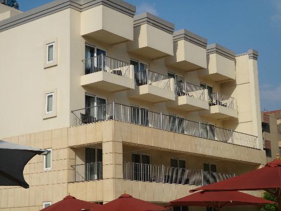 Le Meridien Pyramids Hotel & Spa: balconi condivisi