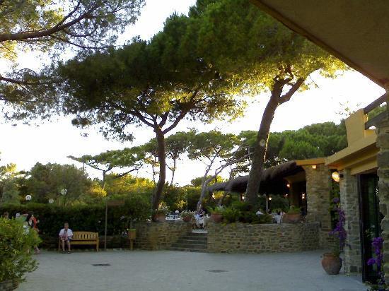 Roccamare Resort: ristorante Hotel roccamare