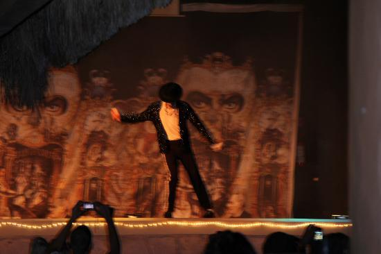 Hotel Riu Lupita: Michael Jackson Show - shows every night