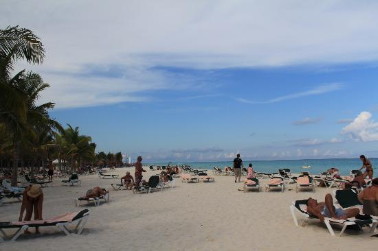 Hotel Riu Lupita : Beachside