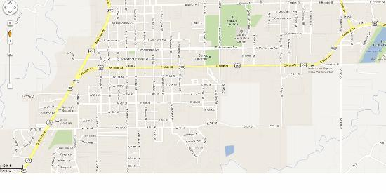 City Map - Picture of Holiday Inn Express Mesa Verde-Cortez ...