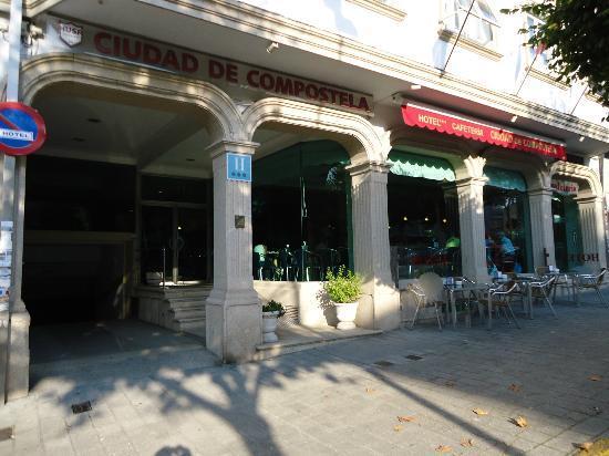 Hotel Ciudad de Compostela: Fachada del Hotel