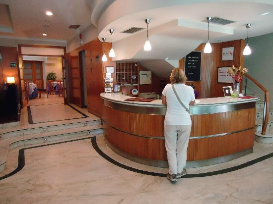 Hotel Ciudad de Compostela: Recepción del Hotel