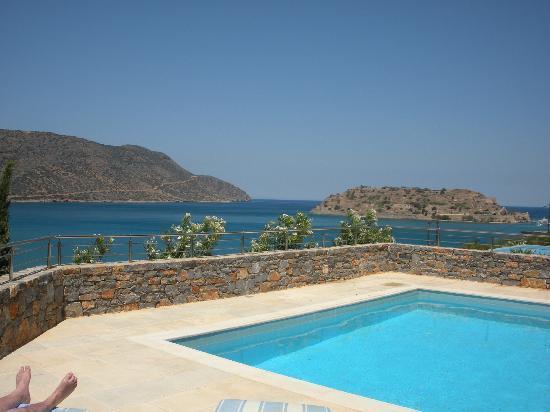 Blue Palace, a Luxury Collection Resort & Spa, Crete : vue de la Island Suite
