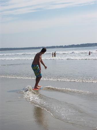 Ocean Walk Hotel: Super pour faire du skim