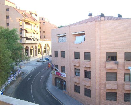 Hotel Mayoral: vue de notre chambre !