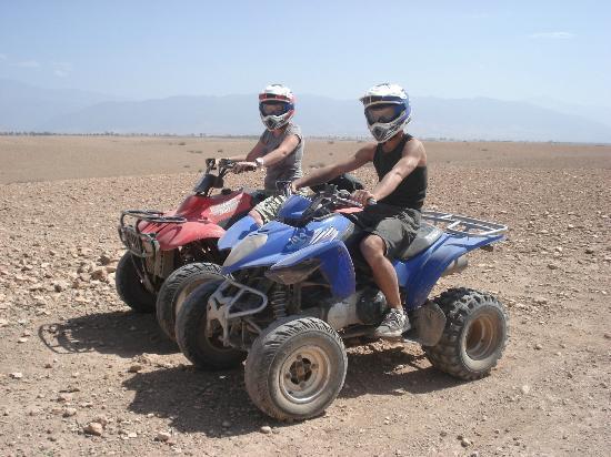 Riad Charme d'Orient: quad desert 