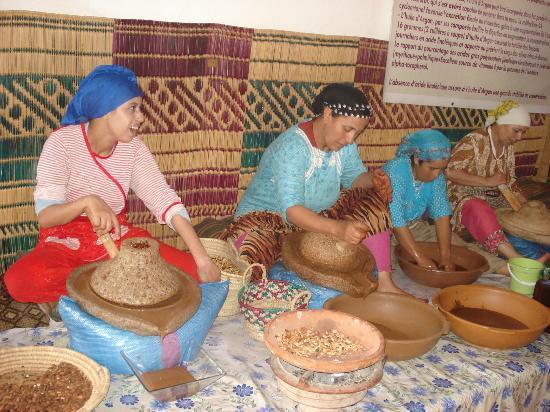 Riad Charme d'Orient: fabrique d'argan