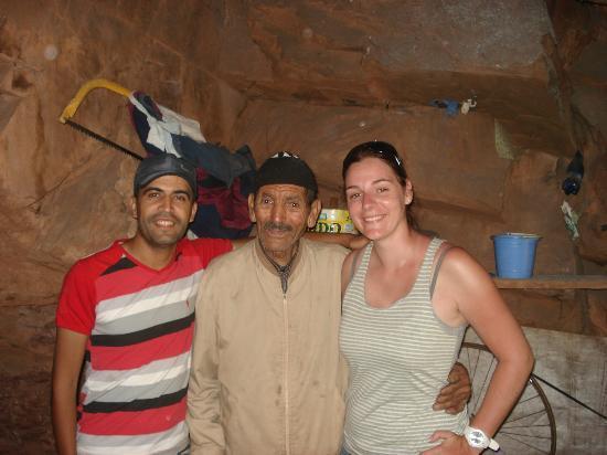 Riad Charme d'Orient: ourika avec saïd chez un forgeron