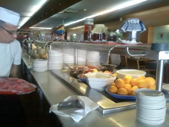 Preluna Hotel & Spa: Teil des Frühstücksbuffets