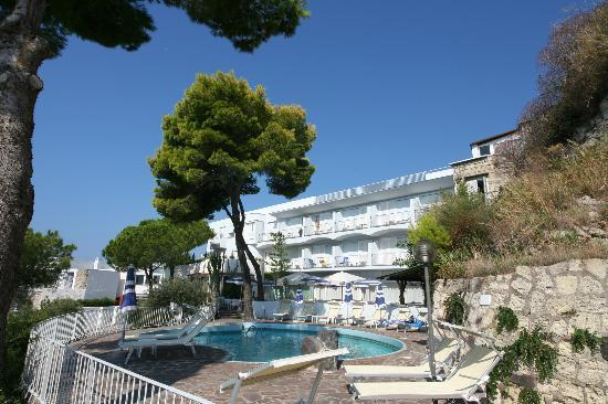 Hotel San Giorgio Terme: Vista dalla Piscina