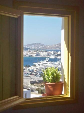 Omiros Hotel: The view from room 11