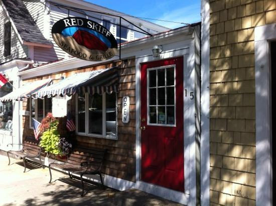 Red Skiff Restaurant: red skiff