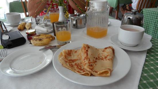 Anse Soleil Beachcomber: Petit déjeuner