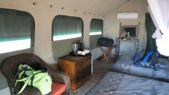 ‪‪Tydon Safari Camp‬: Inside tent‬