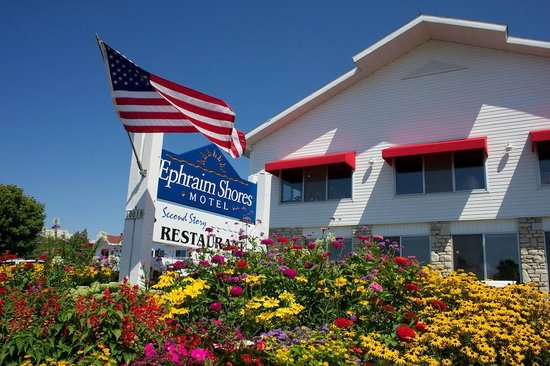 Ephraim Shores Motel & Restaurant: Ephraim Shores Resort & Restaurant
