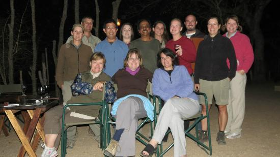Tydon Safari Camp: Staff and guests
