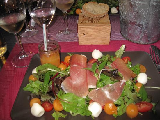 L'Estagnol : salade als voorgerecht