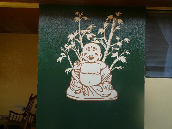 Colibri Hostal : Buddha Wall Mural