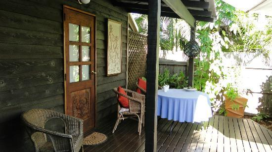 The Bungalow Broome: outside room