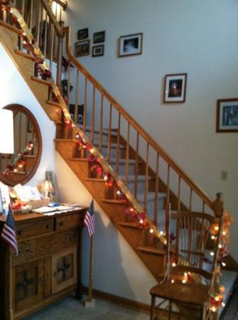 Fredonia, Πενσυλβάνια: stairway