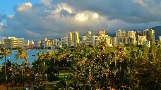 Lotus Honolulu at Diamond Head: vista dal piano