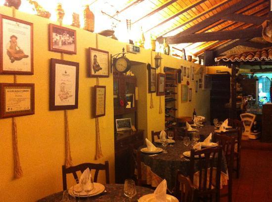 O Burgo : intérieur du restaurant