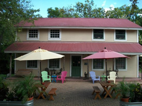 Winery on the Gruene: Our Winery with outdoor seating