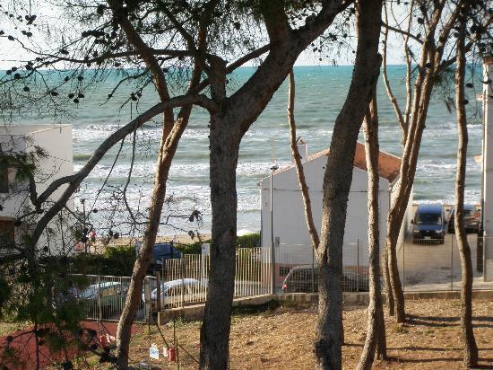 Orchidea Blu Hotel: vista verso il mare