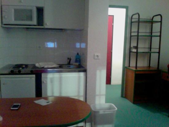 Apart Hotel Les Laureades : Cuisine / Entrée