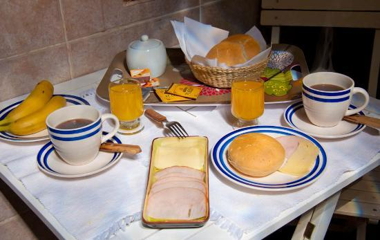 Parina Atacama Apart Hotel: Breakfast