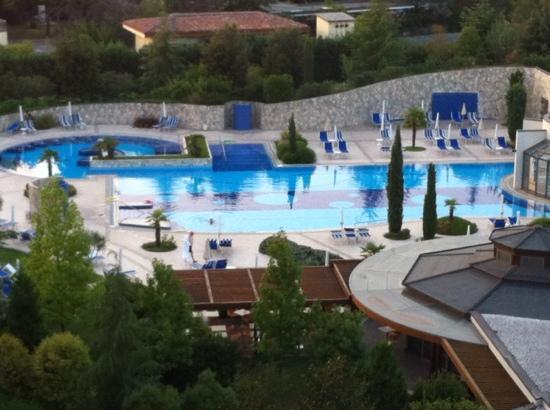 Hotel Sollievo Terme: foto dal balcone