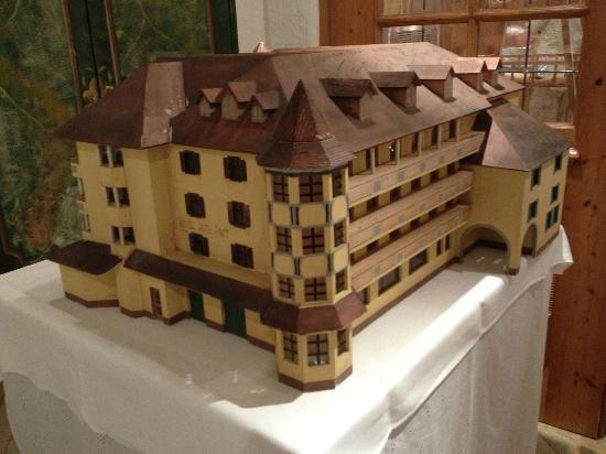 Hotel Alte Post: Model of Hotel