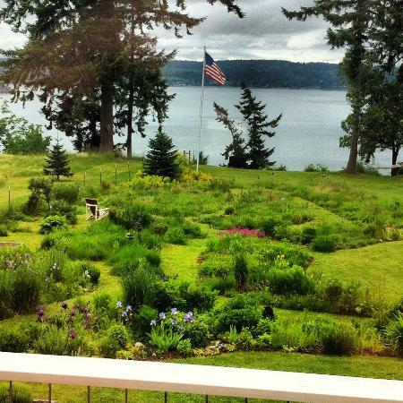 The Bluff on Whidbey: View from the Cicero balcony