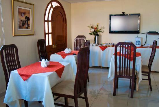 Casa Villa Arequipa: Breakfast area