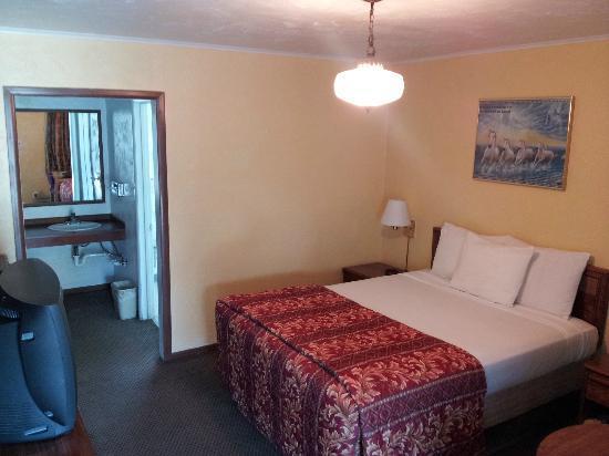 Mountain View Inn: 1 Queen Bedroom