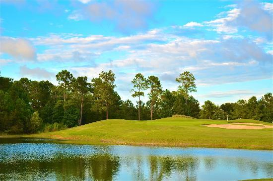 Carolina National Golf Club: North carolina blue skies!