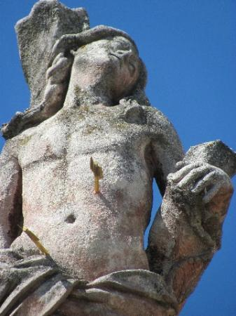 Plague Column: detail
