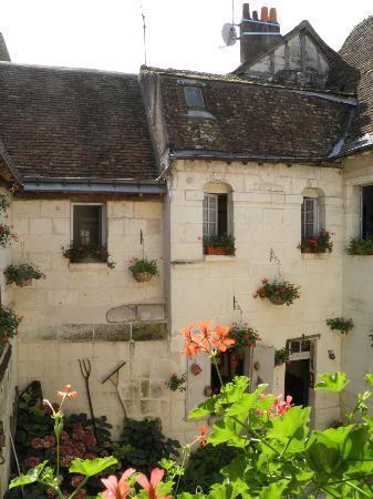 Hotel de Beaulieu : Vue depuis la cour intérieure
