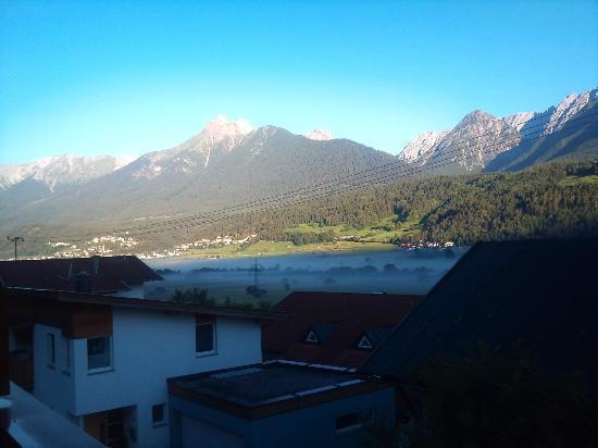 Seewald Gasthof: Au lever depuis le balcon ! Enchanteur ....