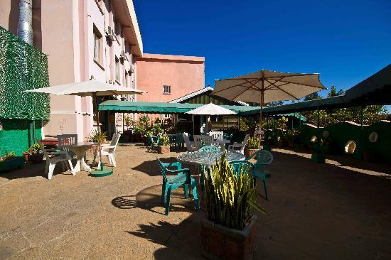 Hotel Gregoire: La Terasse